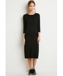 Forever 21「FOREVER 21 Shift Sweater Dress(One piece dress)」