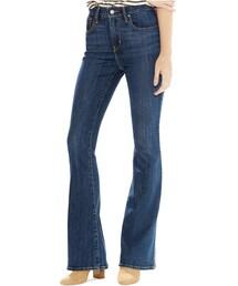 Levi's「Levi's® High-Rise Flared Jeans, Springtide Indigo(Denim pants)」