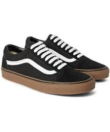 Vans「Vans Old Skool Suede and Canvas Sneakers(Sneakers)」