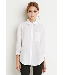 Forever 21「FOREVER 21 Classic Woven Shirt(Shirts)」