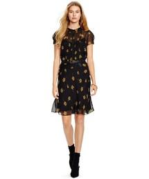 Polo Ralph Lauren「Polo Ralph Lauren Floral-Print Silk Dress(One piece dress)」