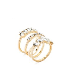 Forever 21「FOREVER 21 Rhinestone Cutout-Band Ring(Ring)」