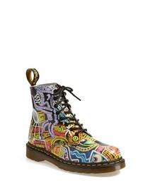 Dr. Martens「Dr. Martens 'Pascal' Multi Kaboom Print Boot (Women)(Boots)」