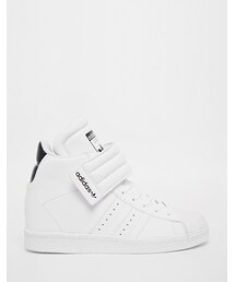 adidas「adidas Originals Superstar High Top White Sneakers(Sneakers)」