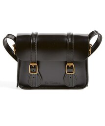 Dr. Martens「Dr. Martens 7 Inch Leather Crossbody Clutch(Clutch)」