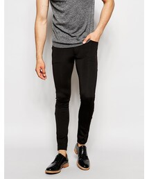 Asos「ASOS BRAND ASOS Extreme Super Skinny Pants In Scuba(Pants)」