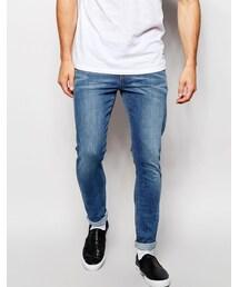 Asos「ASOS BRAND ASOS Super Skinny Jeans In Mid Wash(Denim pants)」