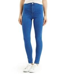 Topshop「Topshop Moto 'Joni' High Rise Skinny Jeans (Bright Blue)(Denim pants)」