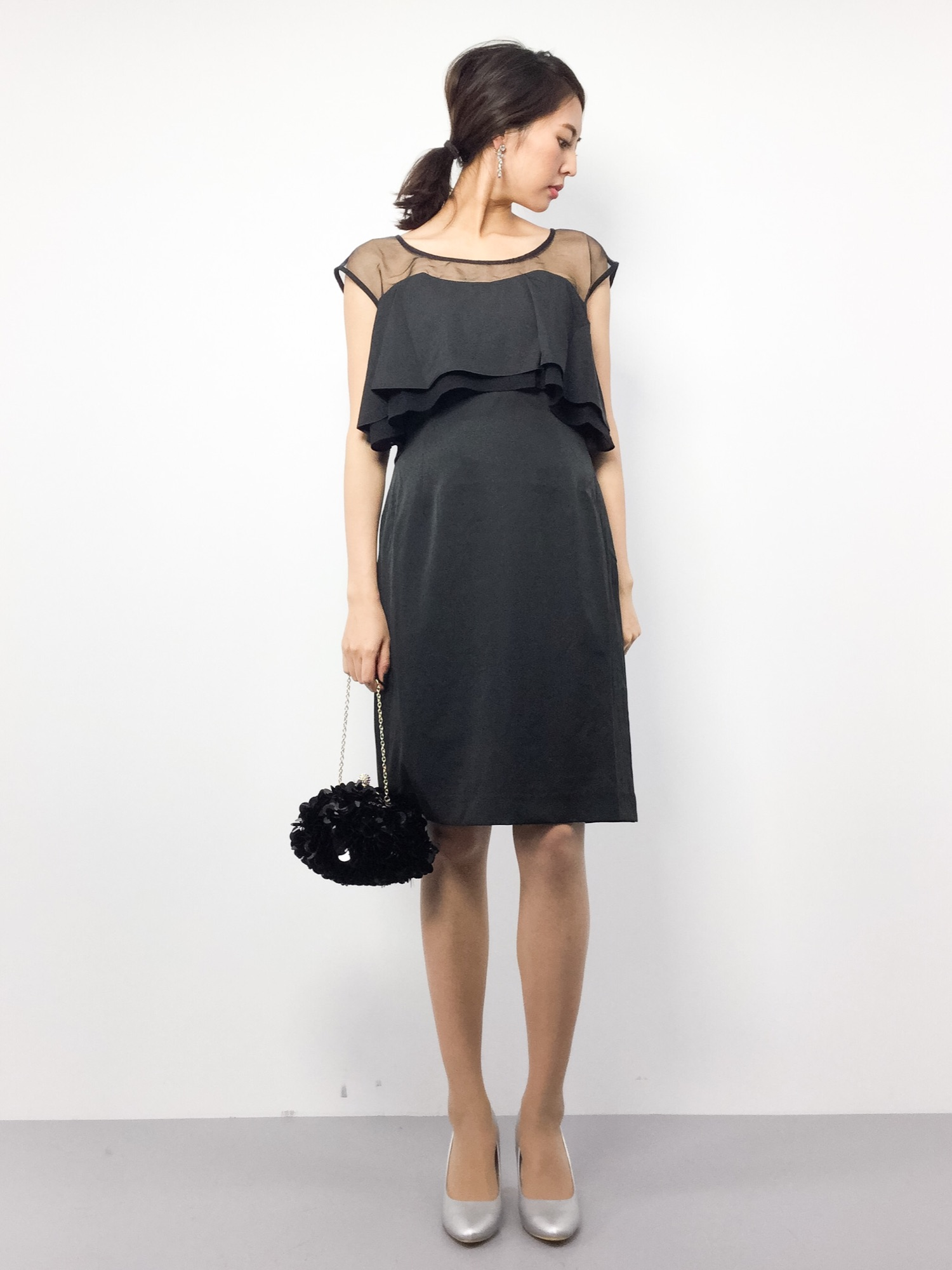 815d1ee552f3b m.y(ZOZOTOWN)|PourVousのドレスを使ったコーディネート - WEAR
