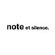 note et silence.
