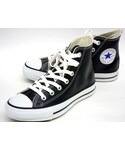 CONVERSE | CONVERSE ALL STAR LEATHER HI BLACK(スニーカー)