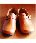 CLEDRAN | OILED LEATHER SHOE MID (その他シューズ)