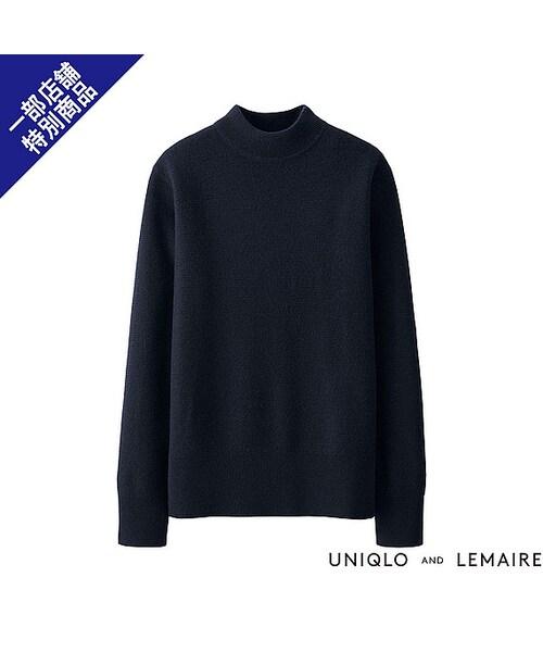 ラムボートネックセーター
