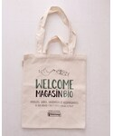 Welcome Magasin Bio | Welcome Magasin Bio のエコバッグ(Large)(エコバッグ)