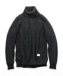 Name. | Name. 【ネーム】 KID MOHAIR TURTLE NECK KNIT(ニット・セーター)
