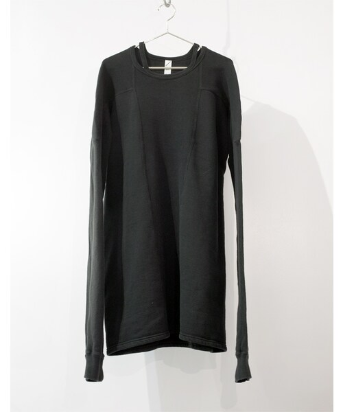 SISTERE(システレ)の「HOLD UP LONG SLEEVE SWEAT  [BLACK](スウェット)」