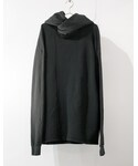 SISTERE | HOLD UP LONG SLEEVE SWEAT PARKA [BLACK](パーカー)