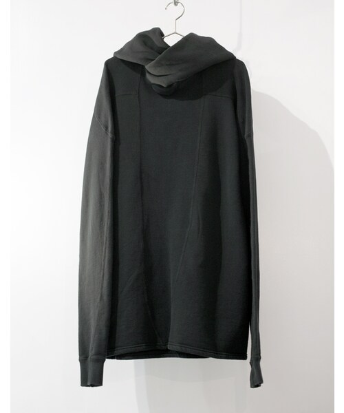 SISTERE(システレ)の「HOLD UP LONG SLEEVE SWEAT PARKA [BLACK](パーカー)」