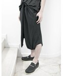SISTERE | ONE-PIECED LOINCLOTH JERSEY TROUSERS(パンツ)