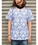 blue willow pattern T(Tシャツ・カットソー)