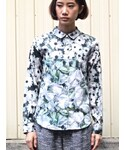 tiit | flower photo shirts(シャツ・ブラウス)