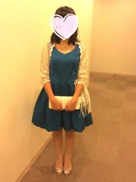 10c3f205fdcc6 SCOT CLUB(スコットクラブ)のドレスを使ったコーディネート一覧 - WEAR