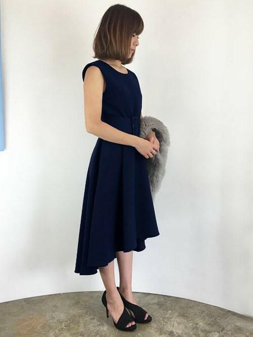 b11f7057bcb88 パーティードレス通販GIRLGIRL staffさんのドレスを使ったコーディネート - ZOZOTOWN