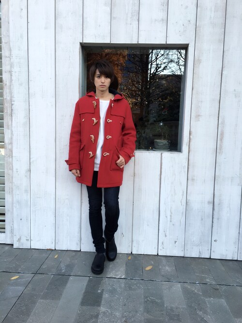 smart編集部公式アカウントさんの「DUFFEL COAT(The DUFFER of ST.GEORGE)」を使ったコーディネート