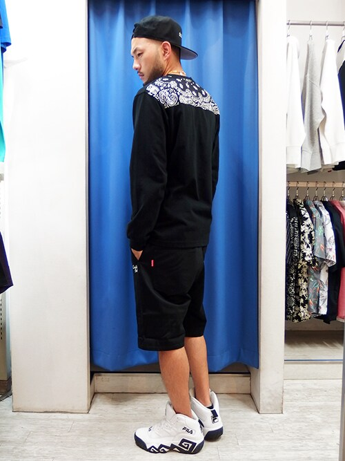 DOUBLE STEAL nagoyaMA$SAさんのTシャツ/カットソー「ヨークバンダナポケットTee(DOUBLE STEAL|ダブルスティール)」を使ったコーディネート