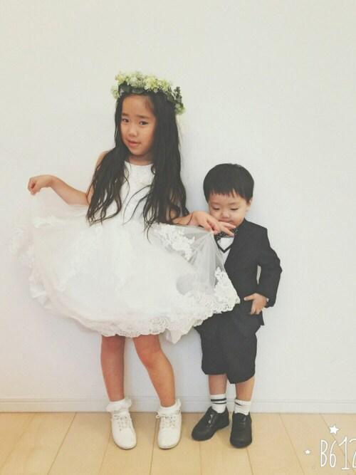 結婚式子供コーデ