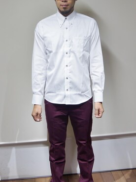 白シャツから透けないインナーの選び方 インナーには何色を着る?