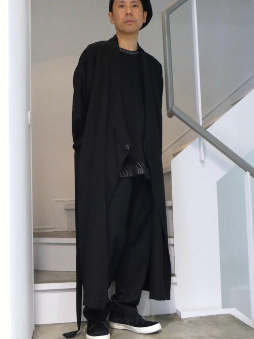 domowaさんの「Sise SJ-15SS-PT16 Wide Tapered Pants(Gaba)(Sise)」を使ったコーディネート