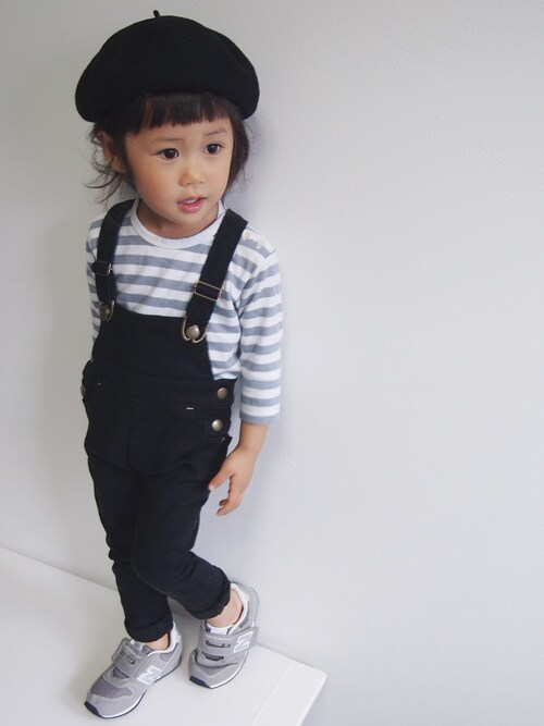 nikoさんのハンチング/ベレー帽「K134 E BERET ベレー帽(agnes b.|アニエスベー)」を使ったコーディネート
