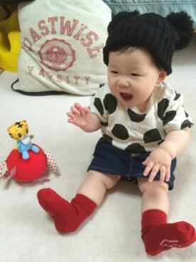 16e72602bf862 デニムスカートを使った「赤ちゃんコーデ」のコーディネート一覧 - WEAR