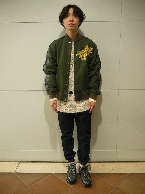 MIDWEST OSAKAfujisakiさんのソックス/靴下「603 無地×リブクルーソックス(603|ロクマルサン)」を使ったコーディネート