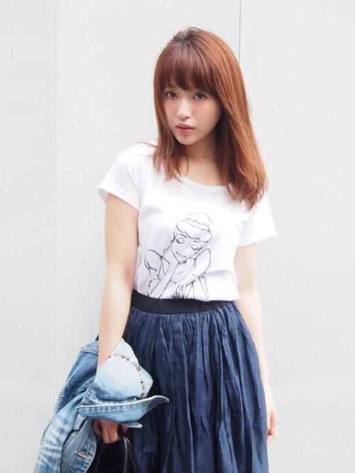 舟山久美子の私服画像