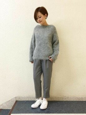 apart by lowrys /名古屋パルコ|sumireさんの「【CLASSY11月号掲載】3GモヘヤコンPO 734346(apart by lowrys)」を使ったコーディネート