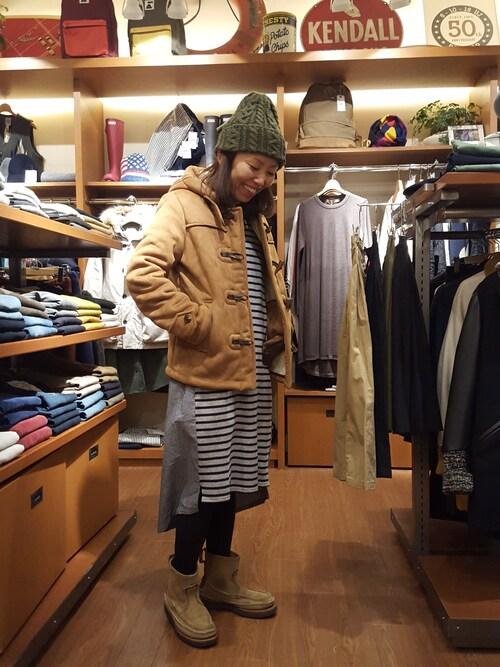 BEAVER渋谷店 Yamadaさんのニットキャップ/ビーニー「HIGHLAND 2000(ハイランド2000)  Bob Cap/ボブキャップ(HIGHLAND 2000|ハイランドトゥーサウザンド)」を使ったコーディネート