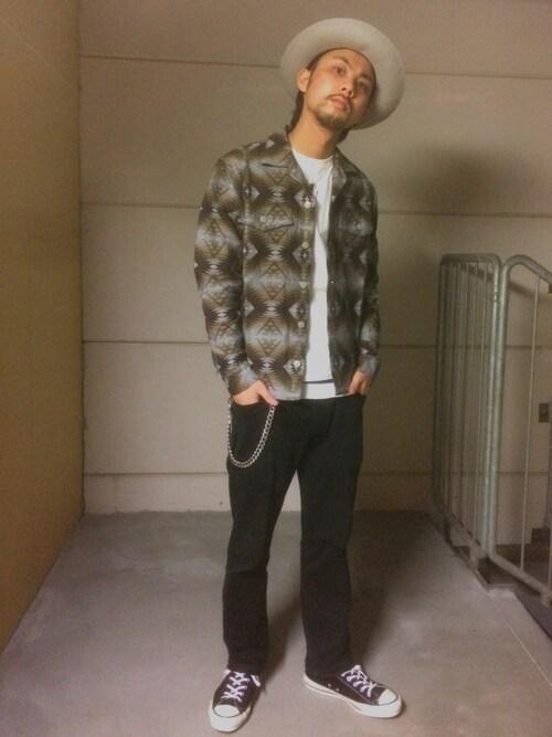 Schott TOKYO-BAYMinoru_Uchidaさんの「( )」を使ったコーディネート