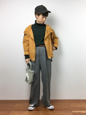 ZOZOTOWN|MIKULUさんの「FORK&SPOON Bulky Loose Turtle Knit(URBAN RESEARCH DOORS WOMENS)」を使ったコーディネート