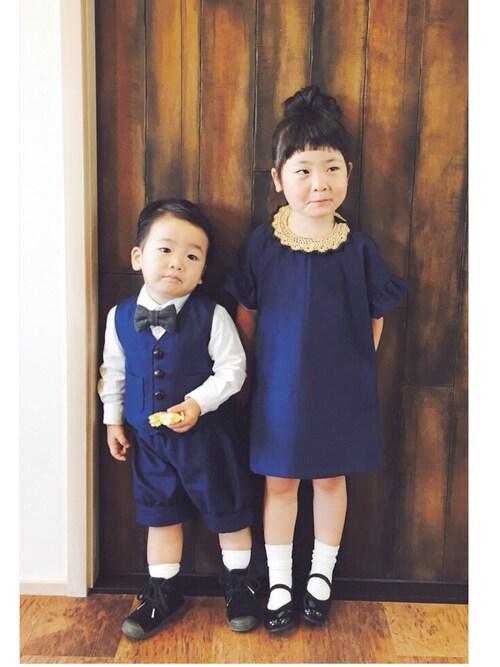 結婚式服装子供