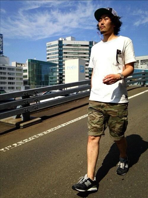 AVIREX 静岡Mr.nakamuraさんの「(|)」を使ったコーディネート