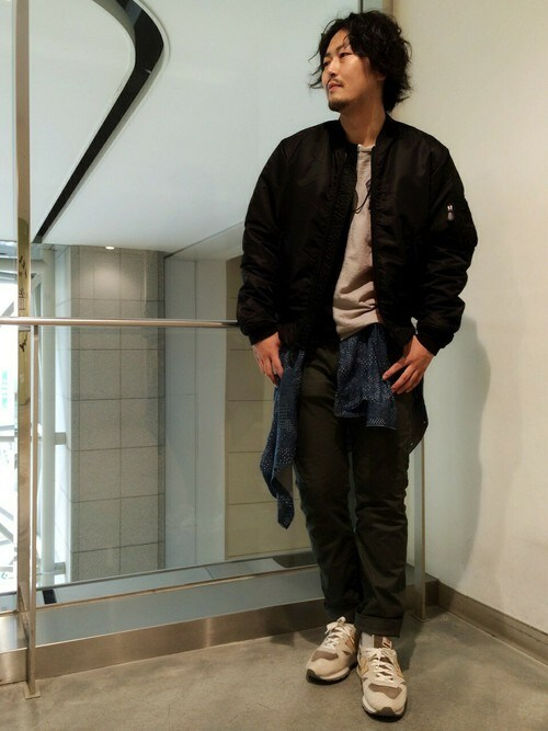 AVIREX  札幌Mr.nakamuraさんのパンツ「avirex/アヴィレックス/ STRETCH DOBBY 8POCKET PANTS/ ストレッチ ドビー 8ポケット パンツ(AVIREX|アヴィレックス)」を使ったコーディネート