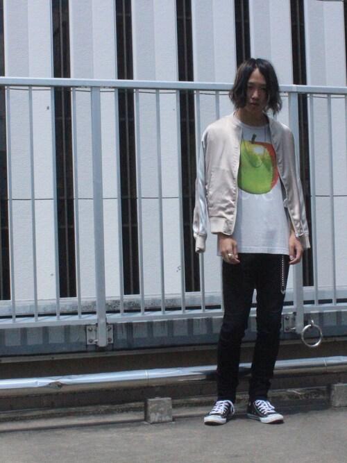 糸魚川 領太さんの「(|)」を使ったコーディネート