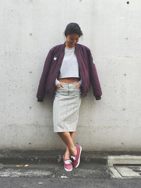 ROXY GIRLS SNAP|NAMIKIさんの「SHARK BAIT(Quiksilver)」を使ったコーディネート