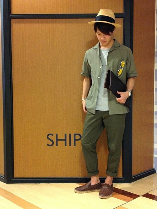 SHIPS 池袋西武店立川さんの「(|)」を使ったコーディネート