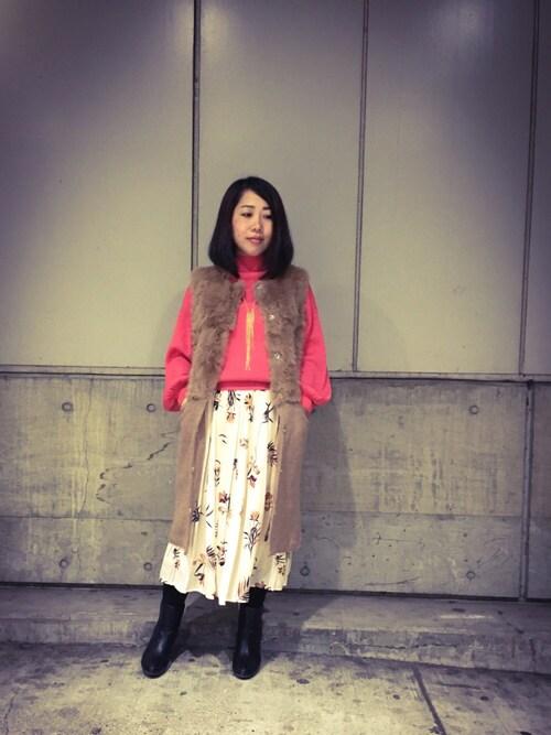 INTERPLANET WINGS 札幌パセオ店じゅんさんの「(|)」を使ったコーディネート