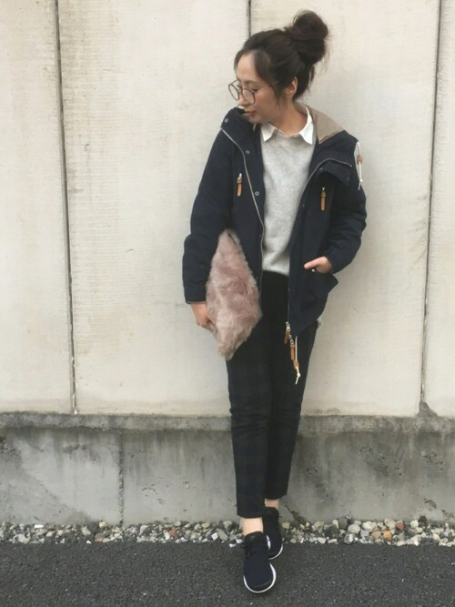maiko さんの「L/S BOA MOUNTAIN PARKA -2015FW-(FREAK'S STORE)」を使ったコーディネート