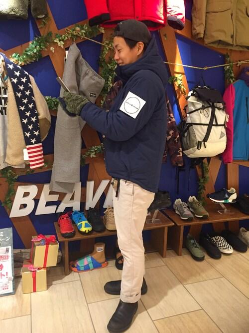 BEAVER名古屋店 funatoさんの「( )」を使ったコーディネート