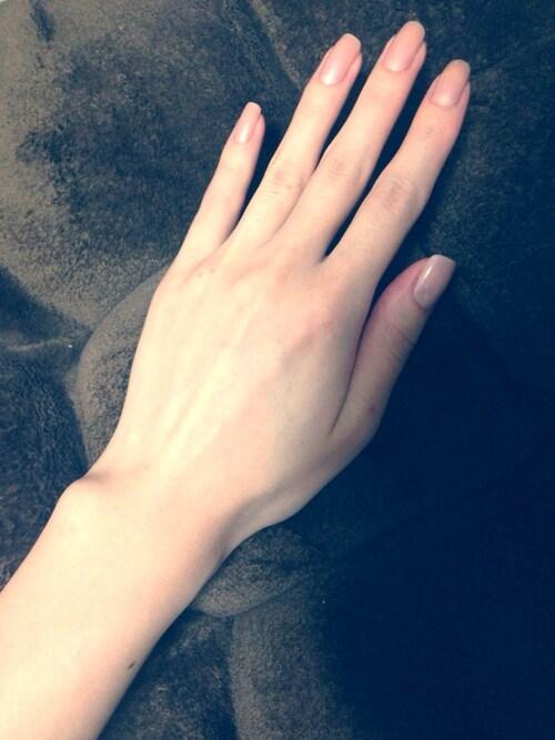 #3 家庭を感じさせる、ノーネイルの手